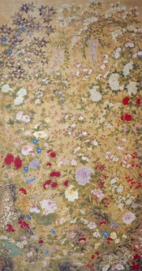 Jiang Tingxi - One Hundred Flowers