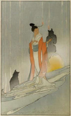 Bertha Lum - The Fox Woman, 1923