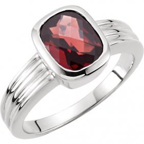 Genuine Mozambique Garnet Ring