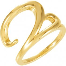 18kt Yellow Ladies Ring