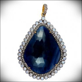 Pendant - Diamond -gold