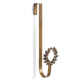 Holiday Collection Laurel Leaves Wreath Hanger