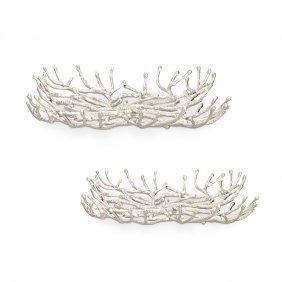 Twig Trays (set Of 2)