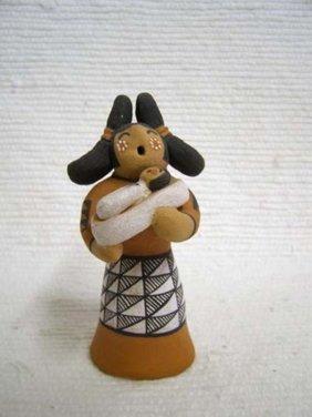 Native American Acoma Made Maiden Storyteller