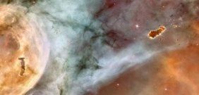 Carina Nebula The Caterpillar - Carina Nebula The