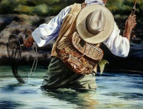 Nelson Boren - Small River Big Fish