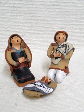 Native American Jemez Handbuilt And Handpainted