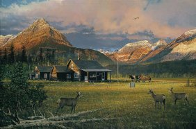 William S. Phillips - Early Morning Visitors