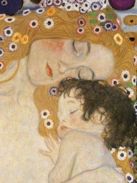 Gustav Klimt. The Three Ages Of Woman (detail)