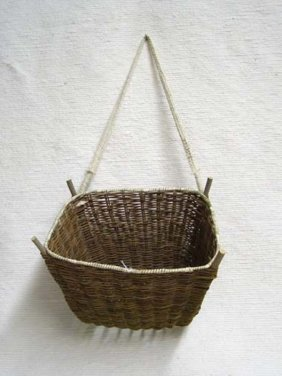 Native American Hopi Made Burden Basket