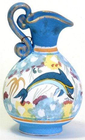 Minoan Dolphin Oinochoe Greek Vase