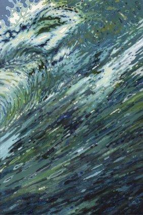 Margaret Juul. Churning Sea