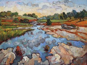 Erin Hanson. Hill Country Waters