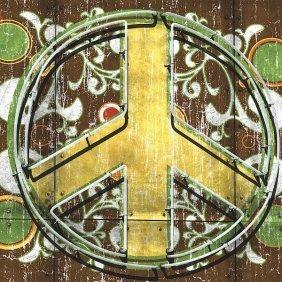 Anthony & Nancci Ross. Peace 2 (sign)