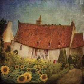Dawne Polis. Garden Cottage At Château De Chenonceau,