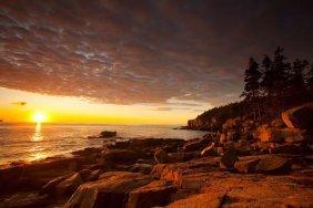 Michael Hudson. Daybreak On The Maine Coast