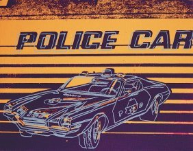 In The Manner Of Andy Warhol. Police Car, 1983