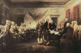 John Trumbull. The Declaration Of Independence