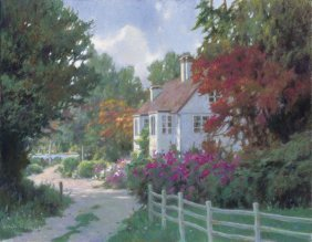 Allan Myndzak. Country Lane