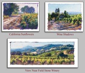 June Carey - Studies Of...wine Country California