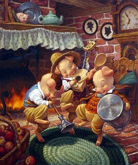 Scott Gustafson - Three Little Pigs