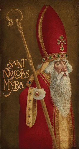 James C. Christensen - St. Nicholas Of Myra