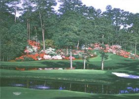 Larry Dyke - The 15th At Augusta