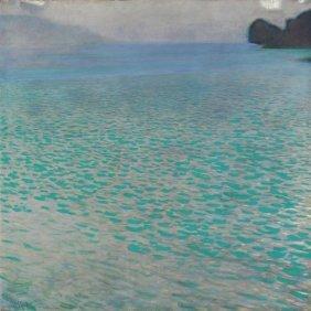 Gustav Klimt. Attersee, 1900