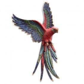 Bird Of Paradise Wall Plaque