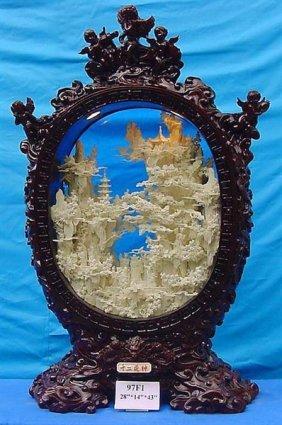 Framed Bone Fairies Mountain