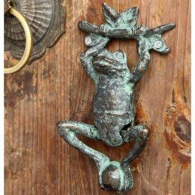 Frog And Branch Doorknocker