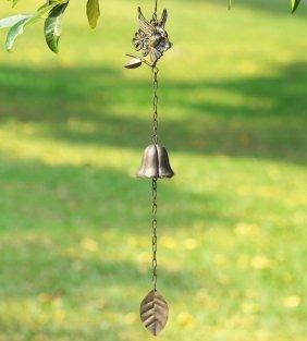 Hummingbird In Flight Wind Bell