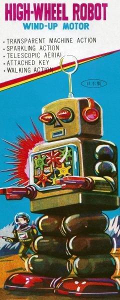 Retrobot - High-wheeled Robot