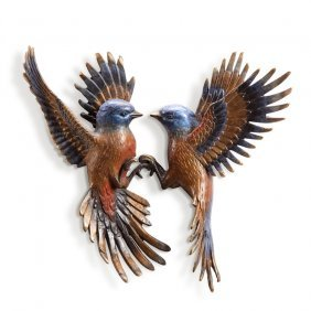 Beautiful Flight Wall Plaque (minivet Pair)