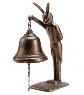 Bunny Butler Table Bell