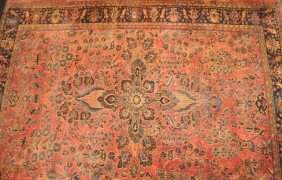 1920's Persian Hand Woven Room Size Carpet