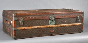 Louis Vuitton Vintage Trunk, Early 1900s