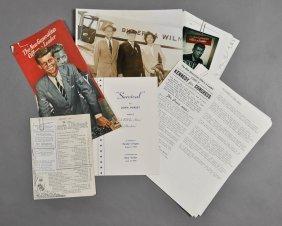 1946-J. F. K., David Powers Campaign File