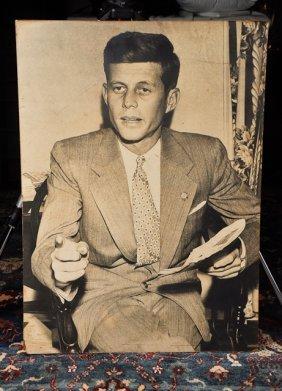 1946- John F. Kennedy, Photographic Portrait