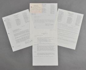 1948-1951-Letters Regarding J.F.K.'s Health