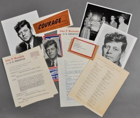 1952-J.F.K. Campaign For U.S. Senate