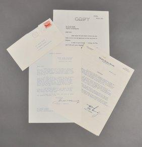 1954-Leg. Record, J.P.K., Sr. Signed (Rare)