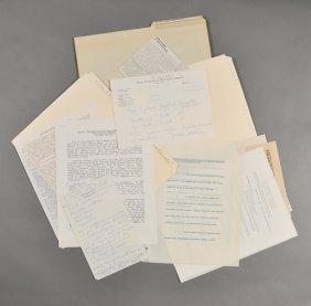 1955-Papers Regarding Sen. J.F.K.'s Health