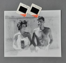 1955-Mar 1, Sen. J.F.K., Palm Beach Photo