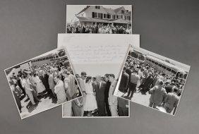 1955-June 10, J.F.K., Mass. Leg. At Hyannis
