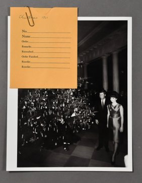 1961-Dec, J.F.K., Christmas