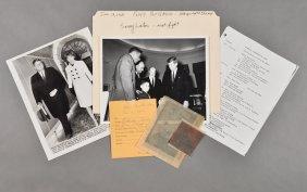 1962-Jan 11, J.F.K., With Floyd Patterson