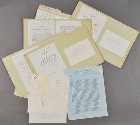 1962-J.F.K., President Wilson Typewriter