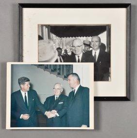 1962-J.F.K., With Harry S. Truman
