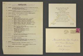 John F. Kennedy's Political Inaugural Gala 1961
